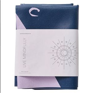 Anthropologie Other - Love Mindfully Travel Yoga Mat